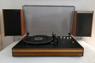 £50 • Buy Vintage 1970s Fidelity UA8 Record Player And Speakers 33/45 Speeds Working