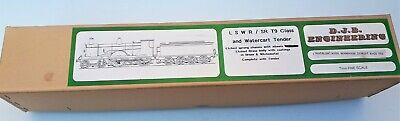 £320 • Buy LSWR/SR/BR T9 Class DJB Engineering O Gauge Model Loco And Watercart Tender Kit