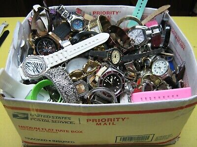 $ CDN68.01 • Buy Nice 14 Pound Lot Of Untested Watches For Parts, Repair, Resale Or Wear - BW