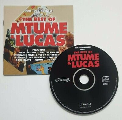 £2.99 • Buy SOUL TOGETHERNESS Mtume And Lucas – Best Of CD 2004 RENA SCOTT SUNFIRE SPINNERs