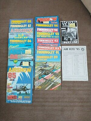 £14.99 • Buy Collection Of Airshow Magazines/Programmes