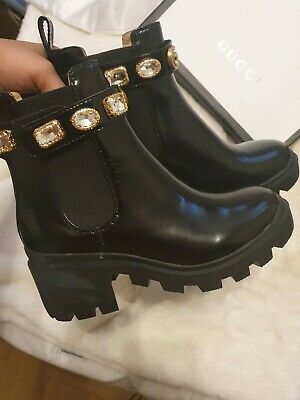 £600 • Buy Gucci Snake Boots - Size 5 - Unworn