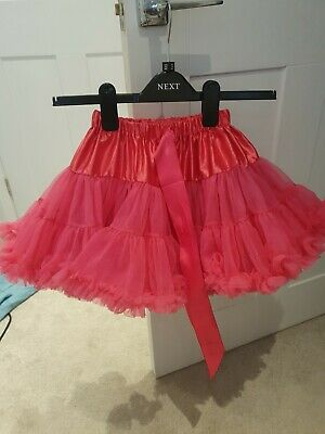 £5 • Buy Girls Pink Tutu Skirt By Candybows Size M