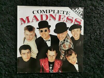 £0.99 • Buy Complete Madness 12  Vinyl LP/Two Tone/Ska/One Step Beyond/Baggy Trousers