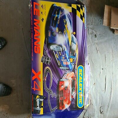 £40 • Buy Hornby Scalextric Le Mans X4 C1611Used Missing Cars