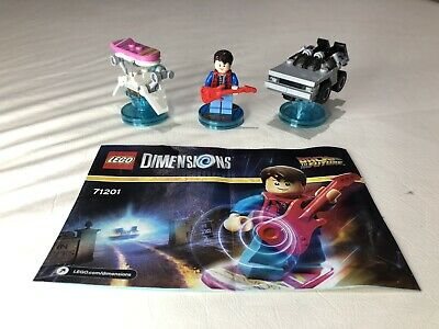 AU45 • Buy Lego Dimensions 71201 Back To The Future Marty McFly, Delorean And Hoverboard