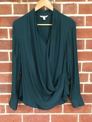 AU15 • Buy COUNTRY ROAD Ladies Shirt, Teal Green, Small