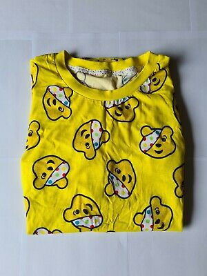 £4.99 • Buy PUDSEY Children In Need T Shirt Yellow, Tags Size Large