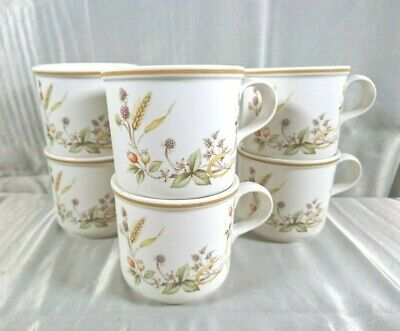 £0.99 • Buy 6 X Marks And Spencer M&S Harvest Pattern Tea Cups