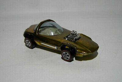$ CDN24.35 • Buy Vintage Hot Wheels Redline Silhouette, US, Gold With White Interior VERY CLEAN