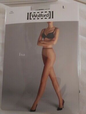 £5 • Buy Wolford Ina Net Tights / Pantyhose (Micro-net; Black; Large)