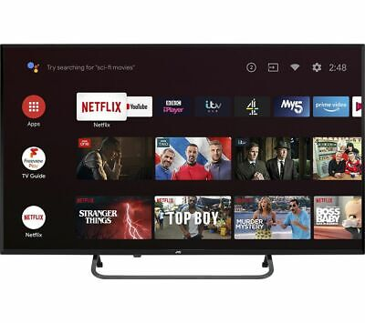 £234.99 • Buy JVC LT-43CA890 Android TV 43  Smart 4K Ultra HD HDR LED TV With Google Assistant