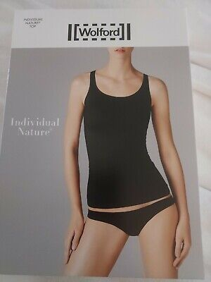 £8 • Buy Wolford Individual Nature Vest Top, XS, White