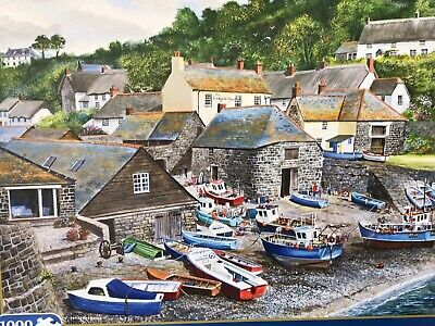 £7.60 • Buy Gibsons Best Puzzle Maker. Cadgwith Cove By Terry Harrison 1000 Pieces. 100% …