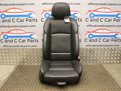£95 • Buy BMW 5 SERIES  FRONT SEAT BLACK LEATHER M-sport DRIVER RIGHT LCI  F10 F11 8/6