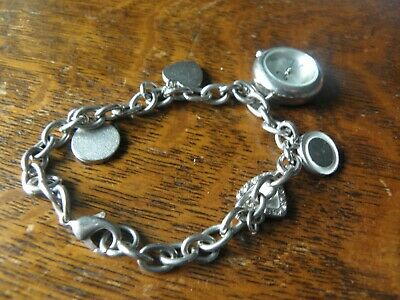 £6 • Buy WATCH  With Charm Bracelet LONDON AF62.101L New Battery In Working Order