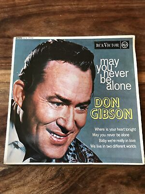 """£4.90 • Buy Don Gibson May You Never Be Alone 7"""" EP Mono RCX- 7122"""