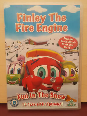 £0.99 • Buy Finley The Fire Engine - Fun In The Snow -  Region 2 DVD (G1)