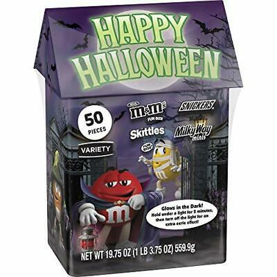 $17.65 • Buy M&M'S, SNICKERS, MILKY WAY, & SKITTLES Fun Size 19.75 Ounce (Pack Of 1)