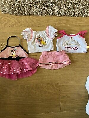 £10 • Buy Build A Bear Girls Disney Princess And Micky Outfits
