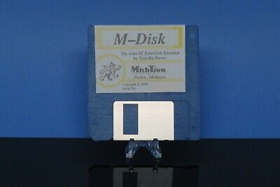 $14.95 • Buy MichTron M-Disk Ram-Disk For The Atari ST Computer Vintage Atari ST Software