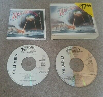 £4.99 • Buy Jeff Wayne's The War Of The Worlds Soundtrack (special Edition) 2cd Fatbox