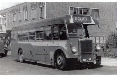 £0.36 • Buy Southdown Bus Photo Photograph Black & White Picture Of Guf746 A Leyland Tiger.