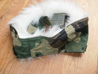 £15.99 • Buy US Army ECWCS Military Woodland Cold Weather Parka Hood Ruff Size Large -NEW
