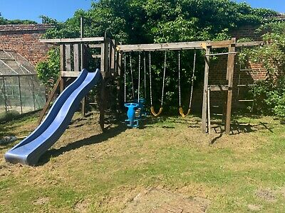 £50 • Buy Wooden Climbing Frame With Swings & Slide
