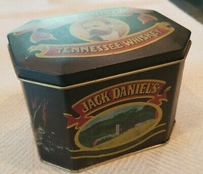 £7.24 • Buy Vintage Jack Daniels Tennessee Whiskey Tin Box With Lid ~ Old No. 7