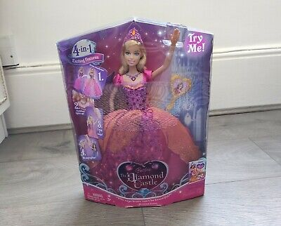 £120 • Buy Barbie & The Diamond Castle 4 In 1 Princess Liana Collectible Doll