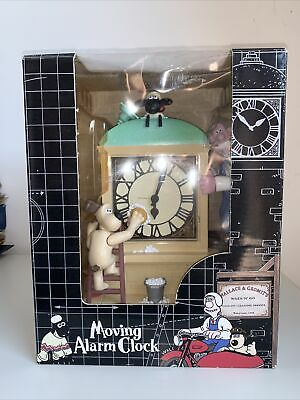 £22 • Buy Wallace And Gromit Vintage 1998 Moving Alarm Clock - Wesco- Shaun The Sheep