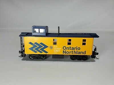 $ CDN6.09 • Buy Ho Trains Ontario Northland Chevron Scheme Caboose Unknown Maker From Collection