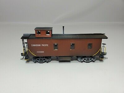 $ CDN6.09 • Buy Ho Trains  Canadian Pacific Cp Old Time#436986 Caboose Weathered From Collection