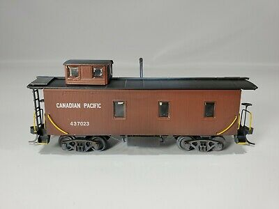 $ CDN6.09 • Buy Ho Trains  Canadian Pacific Cp Old Time#437023 Caboose Weathered From Collection
