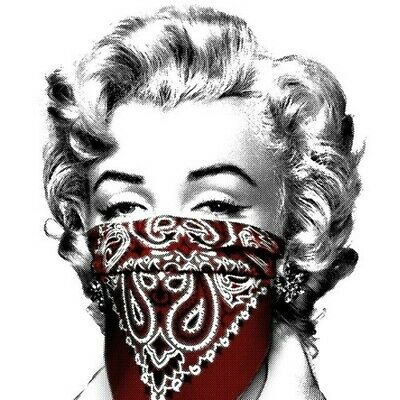 $1100 • Buy Stay Safe By Mr. Brainwash Red Ed Screen Print Signed & Numbered Marilyn Monroe