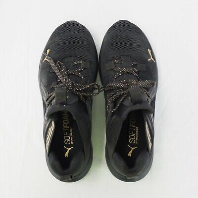 AU50 • Buy PUMA Black And Gold Sneakers. Size 5.5 UK.