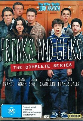AU23.98 • Buy FREAKS AND GEEKS The Complete Series. James Franco. 6 X R4 DVDs