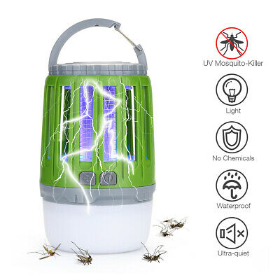 £6.99 • Buy Electric Insect Killer Trap LED Light Tent Lamp Mosquito Fly Bug Zapper Catcher