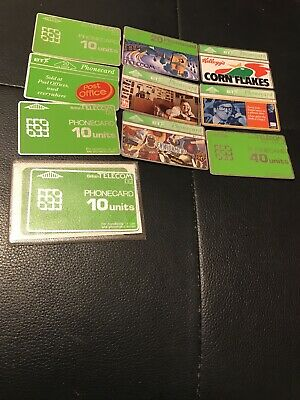 £0.89 • Buy Joblot Phone  Cards Used Collectable