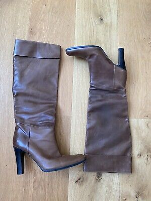 £50 • Buy Brown Leather Women's Gucci Boots - Size 38 1/2