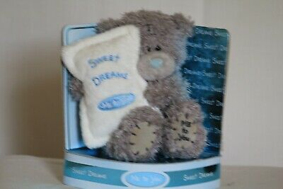 £1.30 • Buy Me To You Bear Holding A Pillow With The Words Sweet Dreams On It