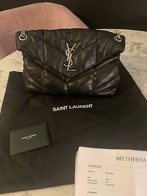 AU1651.15 • Buy YSL Saint Laurant Loulou Quilted Puffer Bag Black £1600