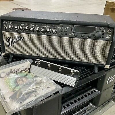 AU300 • Buy Fender Cyber Twin Guitar Amp With Tube Preamps & Classic Digital Modeling