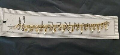 £2 • Buy Stunning Diamante Anklet Ankle Chain Indian Payal Bollywood Single