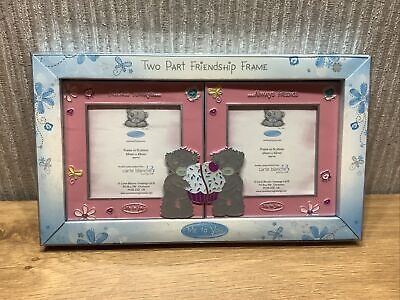 £14.95 • Buy Me To You Bear Photo Frames Collectable Gift Two Part Friendship Frame NEW