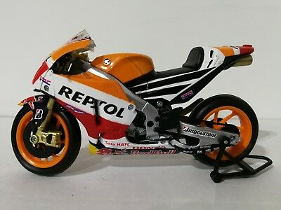 £15.99 • Buy New Ray 1:18 Marc Marquez Repsol Honda RC213V Toy Model GP Road Bike Collection