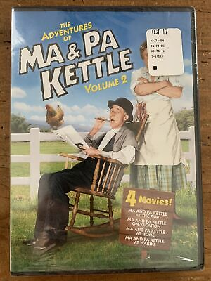 $7.99 • Buy The Adventures Of Ma And Pa Kettle - Volume 2 DVD 2011