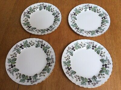 £9.50 • Buy Royal Worcester 4 Lavinia 8 Inch Plates.
