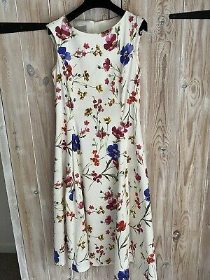 AU28.58 • Buy Hobbs 12 Gorgeous Summer Dress, Wedding Or Special Occasion